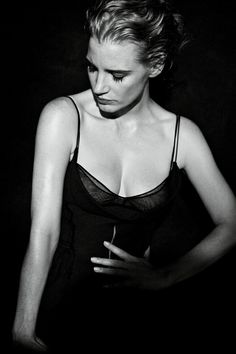 Jessica Chastain by Peter Lindbergh for Interview (2011)