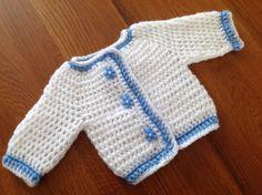 Layette PREMA BRASSiERE blanche et bleue : Mode Bébé par coeur-de-layette
