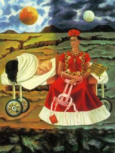 Terri Windling says: ''Tree of Hope, Remain Strong'' by Frida Khalo (1946), painted during a period of worsening health after yet another operation.