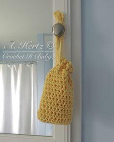 Free Crochet Soap Sa