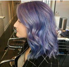 #denimhair #bluehair #purplehair #coloredhair #hairstyles #haircolors #rainbowhair #metallichair #metalhair
