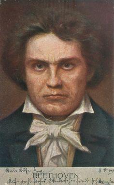 Beethoven. Kunstverlag Max Sinz in Dresden