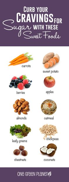 Foods to Curb Sugar Cravings #plantbased #sugar