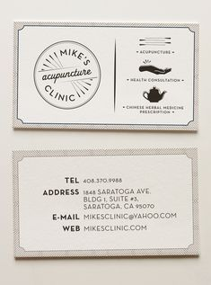 Acupuncture Clinic Identity by Jennet Liaw, via Behance
