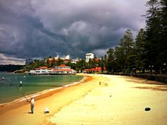 Storms across Manly :) #storms #manlybeach  #sydney #australia