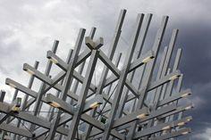 Pavillon von J. Mayer H. in Karlsruhe eröffnet / Bühnenraster - Architektur und Architekten - News / Meldungen / Nachrichten - BauNetz.de