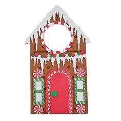 Gingerbread Doorknob Hanger Craft Kit - OrientalTrading.com $7/12 (~$.58 each)