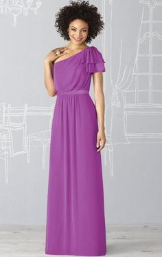 Chiffon Fuchsia(Purple) Australia Bridesmaid Dresses BNNAD1139-SheinDressAU