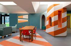 Projects Office designs colourful mental health hub in Edinburgh   ICON Magazine