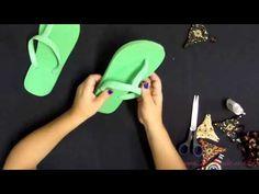11 - Sr. Chinelo - Como cortar a correia e aplicar o cabedal - YouTube