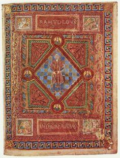 beautifulmedievalmanuscripts: Codex Aureus of St. Emmeram. 9th...