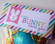 Easter Treat Bag Topper