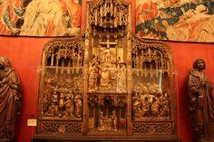 El mejor descubrimiento museístico de este viaje a París: Monasterio de Cluny. Arte gótico medieval en estado puro.