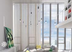 Luxurious Living Room – White Interior Design Style