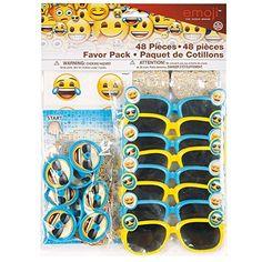 Emoji Party Supplies - Emoji Party Favor Kit for 8 - http://www.partythings.com/emoji-party-supplies-emoji-party-favor-kit-for-8.html