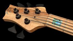 Nordstrand NX5 Headstock. Carey Nordstrand makes some killer pickups, and has a few basses we like as well!