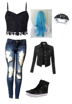 """""""My sorry outfit"""" by fashionlover208 on Polyvore featuring Rebecca Minkoff, Lipsy and LE3NO"""