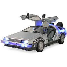 Back to the Future Lights and Sound Mark II Delorean