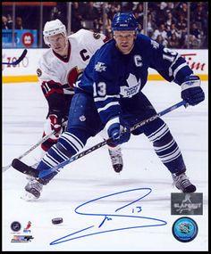 Mats Sundin Toronto Maple Leafs 8x10 Photo.  www.slapshotsignatures.com