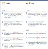 Facebook permette a tutti i nostri amici di inserirci nei loro gruppi, e il Registro attività riporta in alcuni casi che siamo stati noi ad esserci iscritti!