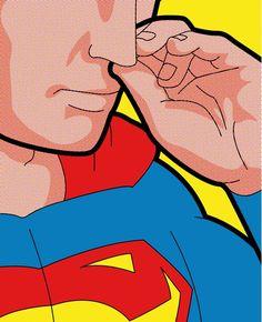 Anche i super eroi lo fanno...