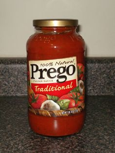 Homemade Prego Sauce. Another one because I've tried a hundred and they never seem to taste just right :-(