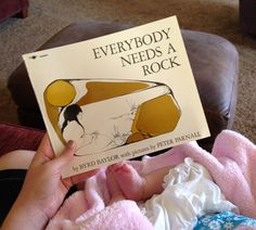 Pretty Providence | A Frugal Lifestyle Blog: Everybody Needs a Rock + Kids Don't Need a Million Toys