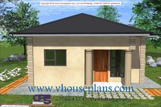 Overall Dimensions- x 2 Car Garage Area- 222 Square meters 2 Bedroom House Plans, My House Plans, Modern House Plans, House Floor Plans, Building Costs, Building A House, Flat Roof House, Rooftop Design, Site Plans