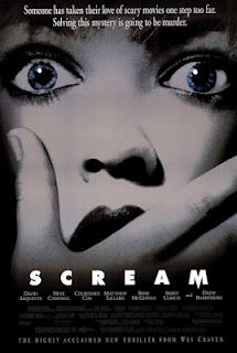 Scream movie. I love scary movies SO much.