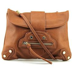 Steve Madden Bladdie Women Faux Leather Messenger Handbag