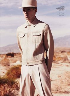Fashion Editorial : Desert Storm – OUT Magazine