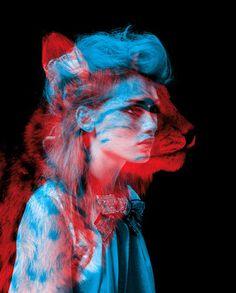 Фото Силуэт девушки и кошки слитые воедино, by Thomas Couderc snd ClГ©ment Vauchez (© МилаДЖИ), добавлено: 07.11.2015 00:13
