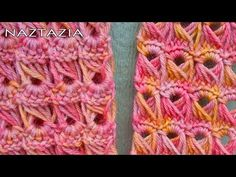 ▶ Learn How to Crochet - Broomstick Lace Scarf Stitch (Peacock Stitch, Peruvian Stitch, Jiffy Lace) - YouTube