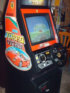 Sega Outrun Arcade Machines | Arcadia | Pinterest | Arcade, Video ...