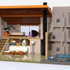 LEGO IDEAS - Steven Universe's Beach House Lego Steven Universe, Build My Own House, Lego Ideas, Beach House, Have Fun, Building, Furniture, Home Decor, Beach Homes