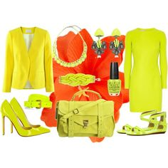 Yellow Vogue | Make It Peachy: Neon Takılar