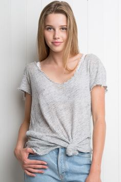 Brandy ♥ Melville   Katerina Top - Tees - Tops - Clothing