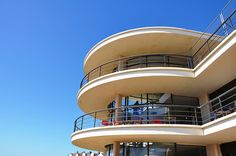 Bexhill on Sea, The De La Warr Pavilion Erich Mendelsohn, Streamline Moderne, His Travel, East Sussex, Pavilion, My Design, Art Deco, Sea, Gallery