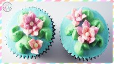 WATER LILY CAKE/WATER LILY CUPCAKES - SUGARCODER