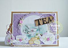 Marianne Design Blog: In de 'Spotlight': Koffie, thee en lekkers