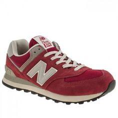07561763 Baratas Hombre New Balance 574 Zapatillas Rojo Crema Precios bajos para  toda Espa a. Private custom shop