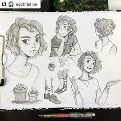 #wooolikes @eychristine  Medan #sketches  #wooomic #regram #repost #likes #comic #sketchbook #illustration #illustrationartists #expressions