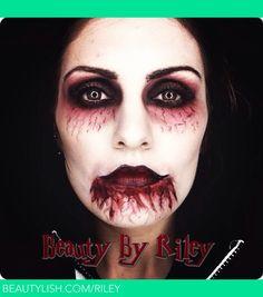 YouTube.com/rileyyvalentine Facebook.com/beautybyriley