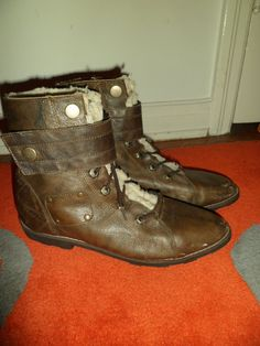$30 Prepare for landing with these aviator boots