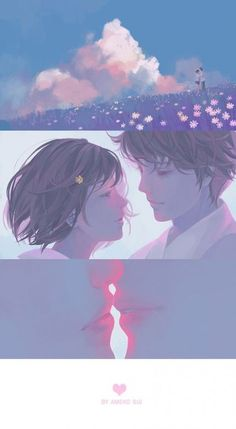 Pin by aprillana on cover quotes & books in 2019 anime art, anime love couple Aesthetic Anime, Aesthetic Art, Manga Art, Anime Art, Arte Alien, Anime Lindo, Doja Cat, Couple Wallpaper, Anime Love Couple