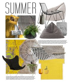 """""""end of summer"""" by homeluz ❤ liked on Polyvore featuring interior, interiors, interior design, home, home decor, interior decorating, Gandía Blasco, Dot & Bo, Bloomingville and Atipico"""