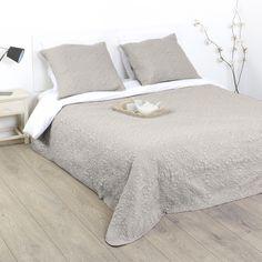 Blanc//Multicolore NATURALS Couvre-lit bouti dyr Lit 90 cm 180 x 260/cm