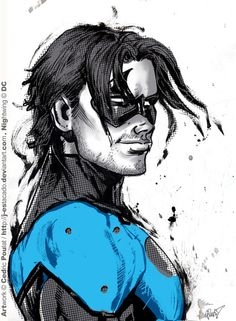 Nightwing by Cedric Coulat