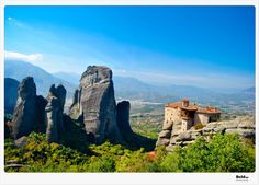 """See 1386 photos from 6501 visitors about meteora, greece, and scenic views. """"In the central Greece one of the most impressive & special places in the. Greek Islands, More Photos, Monument Valley, Places Ive Been, Mount Rushmore, The Good Place, Greece, Mountains, World"""