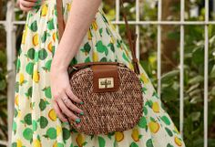 wicker box bag